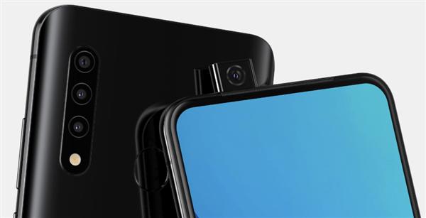 三星推出第一款带有弹出式摄像头的手机 疑为Galaxy A系列新品