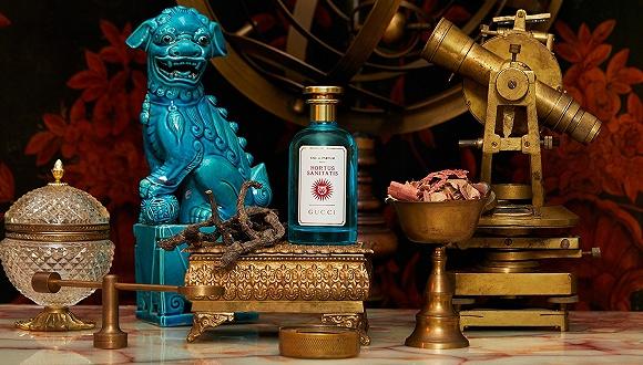 """Gucci""""炼金术花园""""系列新香参考十五世纪百科全书 带给人们关于奇幻世界的无限联想"""