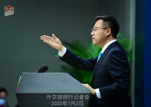 欧博亚洲官网开户网址:中方是否担忧香港国安法会影响中美关系?赵立坚:维护国家安全和双边关系哪个更主要,一目了然 第2张
