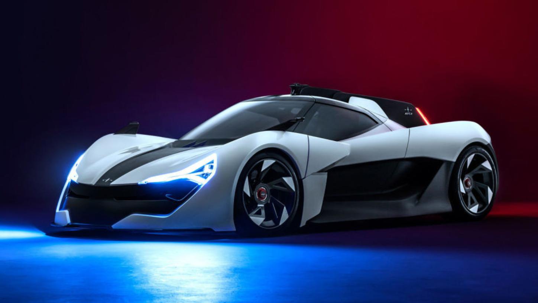英国初创企业推出Ap-0电动超跑 开拓了属于自己的赛道