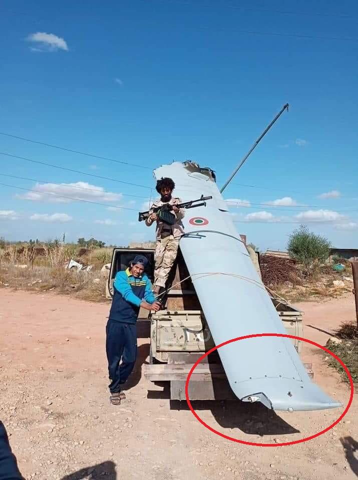 利比亚国民军击落一架意大利MQ-9无人机