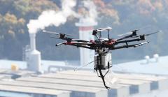 韩国环境部出动无人机监测其首都圈污染指数