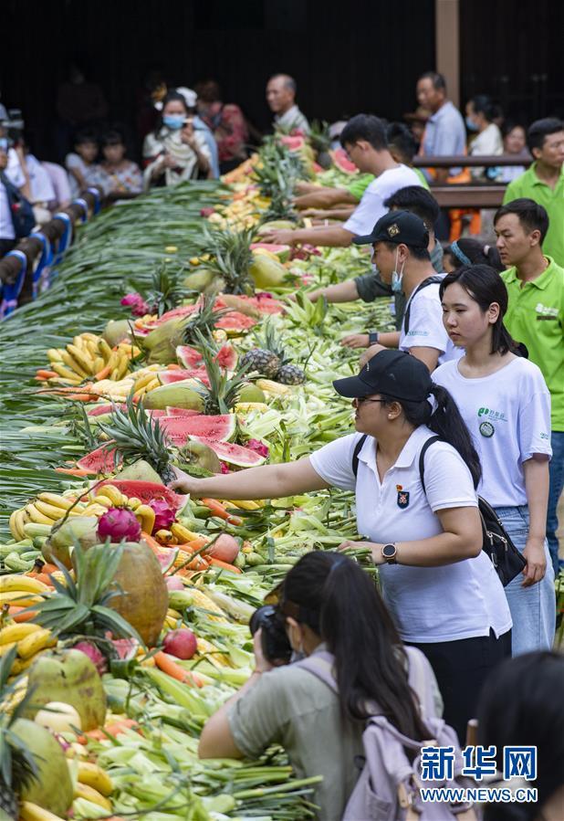 """云南西双版纳举行""""世界大象日""""公益活动"""