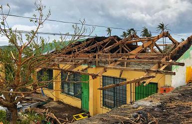 """受台风""""天鹅""""袭击菲律宾殒命人数上升至22人 第1张"""