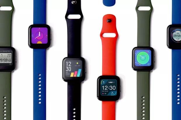 Realme在印度发布首款智能手表和智能电视