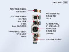 小米CC9Pro内部结构解析:五摄四闪这样堆叠