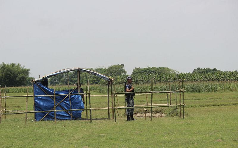 尼泊尔东部疆域年内将增设9个武警边防哨所 第1张