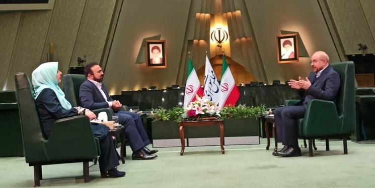 电银付app安装教程(dianyinzhifu.com):伊朗议会议长卡利巴夫:伊朗无意退出伊核协议 第1张