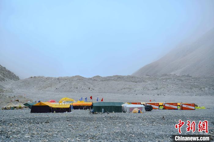 珠峰高程测量登山队调整攻顶队员名单 计划于27日登顶