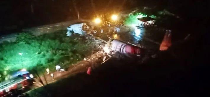 allbet欧博真人客户端:突发:印度一架客机下降时解体,机上至少180人 第2张