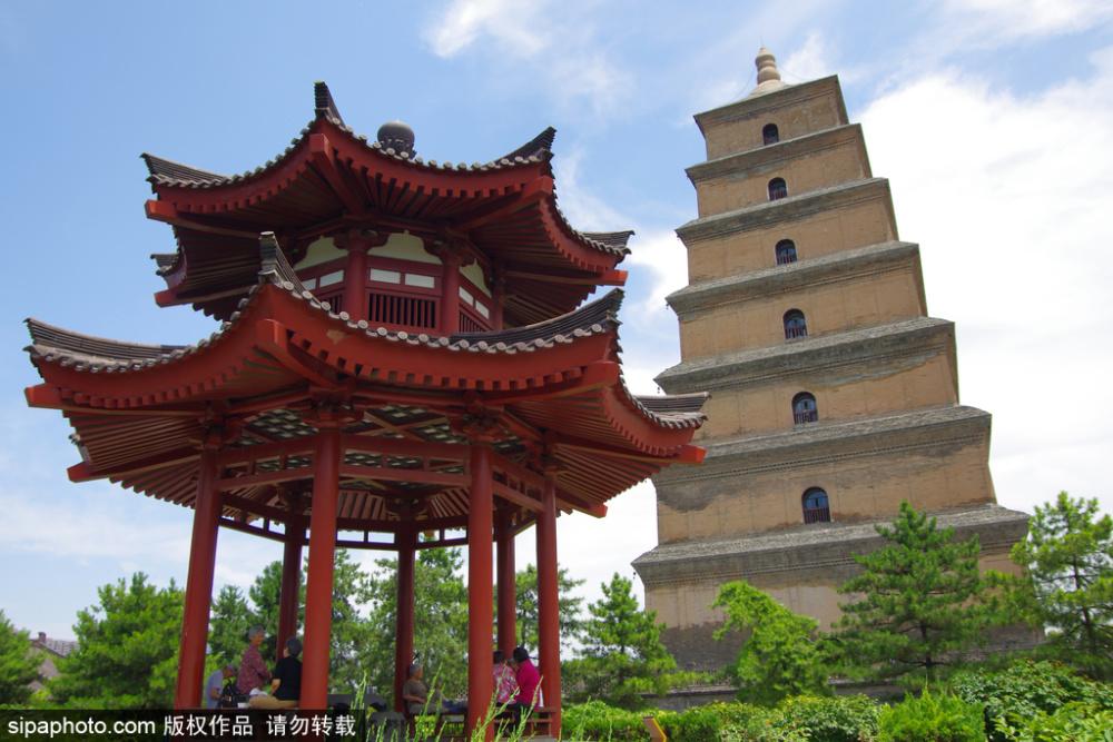 陕西西安:室外开放式景区及户外公园开放