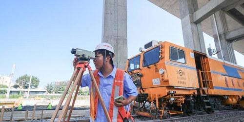 探访北京丰台站改建工程施工现场
