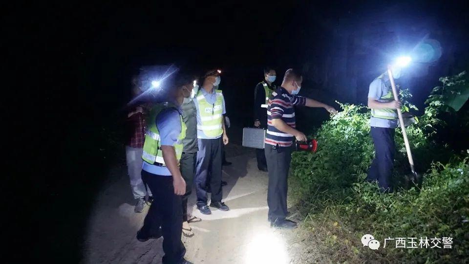 广西男子交通肇事致人死亡后将尸体藏匿 已被警方抓获