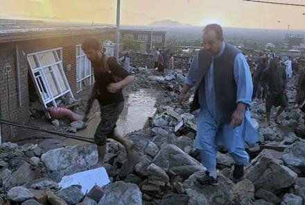 皇冠注册:阿富汗帕尔旺省突发洪水 致17人殒命数十人受伤 第1张