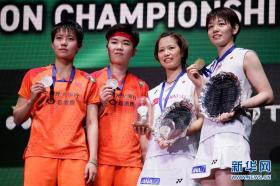 全英羽毛球公开赛:杜玥/李茵晖获得女双亚军