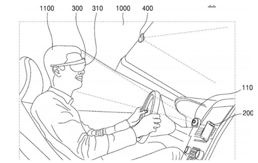 三星AR眼镜新专利曝光  可为驾驶员提供路况信息和实时导航