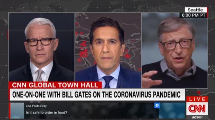 """""""新冠病毒大盛行是一个噩梦般的场景"""",比尔·盖茨喊话全美学习中国"""