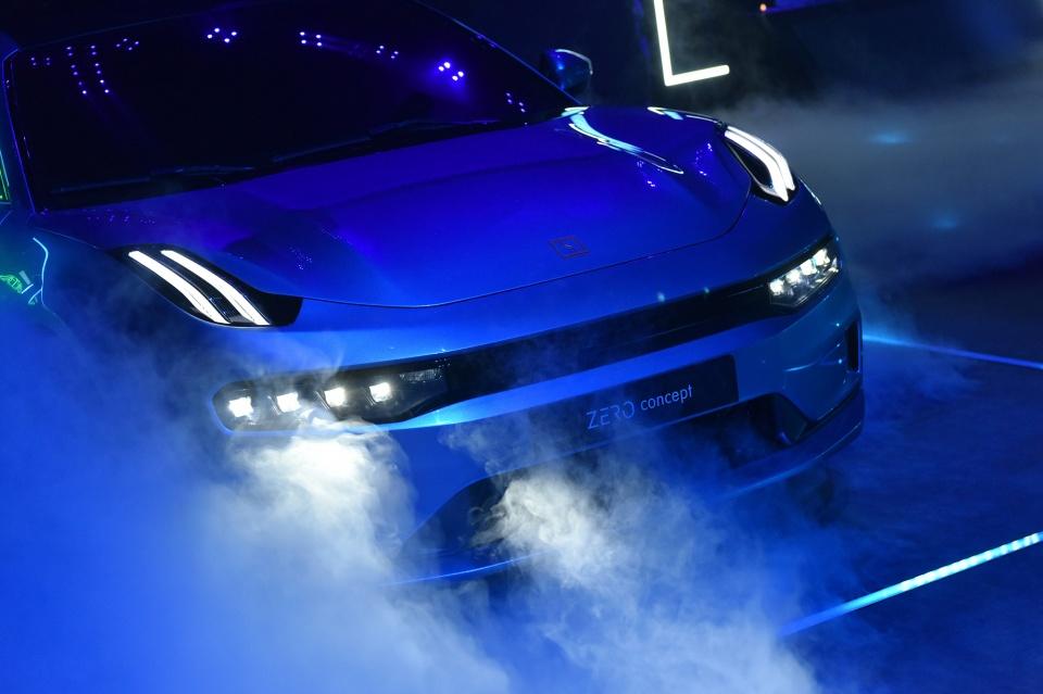 领克首款纯电概念车全球首发