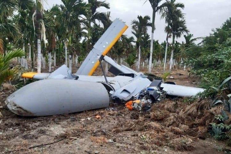 印度一架国产无人机坠毁 机上没有人令围观村民吃惊