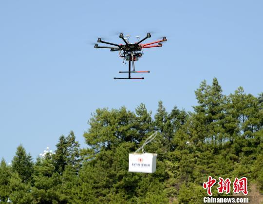 防空警报试鸣人口疏散演练 福建泉州首次运用无人机