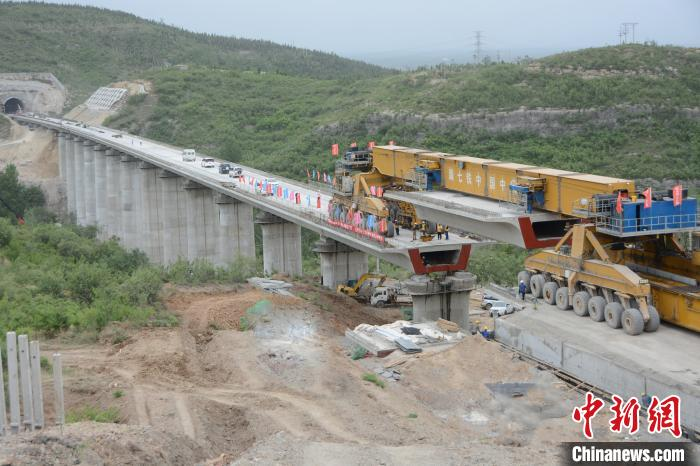 太焦高鐵完成全線橋梁架設 計劃2020年底通車