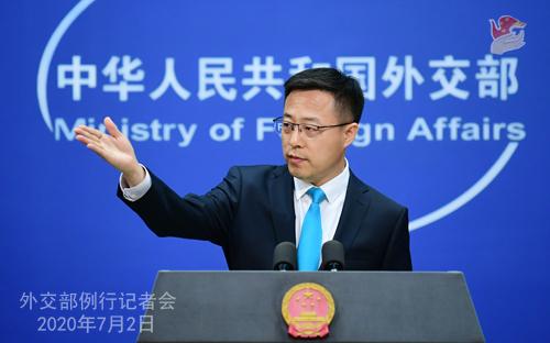 欧博亚洲官网开户网址:中方是否担忧香港国安法会影响中美关系?赵立坚:维护国家安全和双边关系哪个更主要,一目了然 第3张