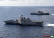 变本加厉!美国海军两艘濒海战斗舰同时闯入南海
