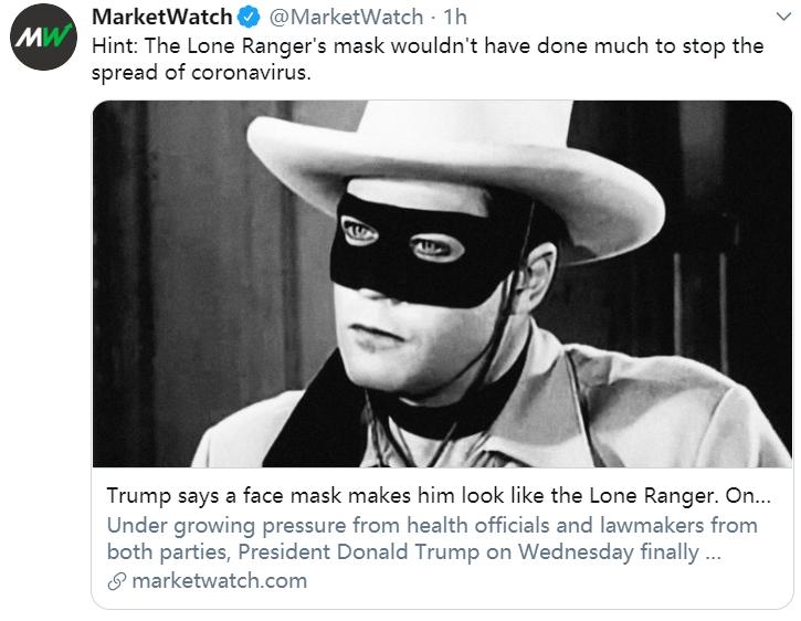 特朗普确诊后首次露面:戴口罩步行走出白宫 发推称我状态还好|特朗普首次戴口罩