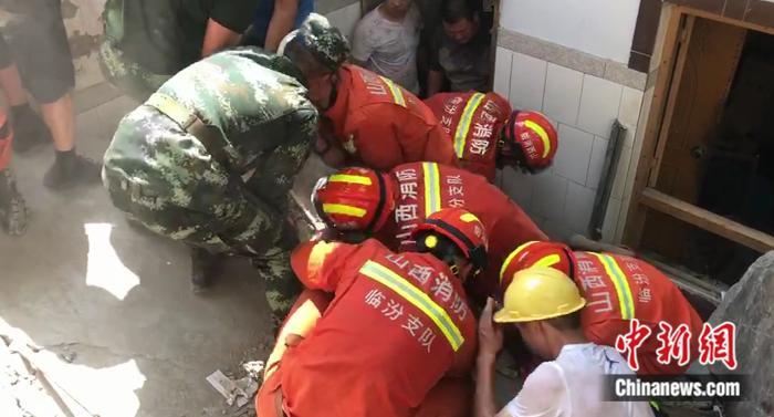 山西襄汾聚仙饭店坍塌已致5人死亡 救援力量增至710人