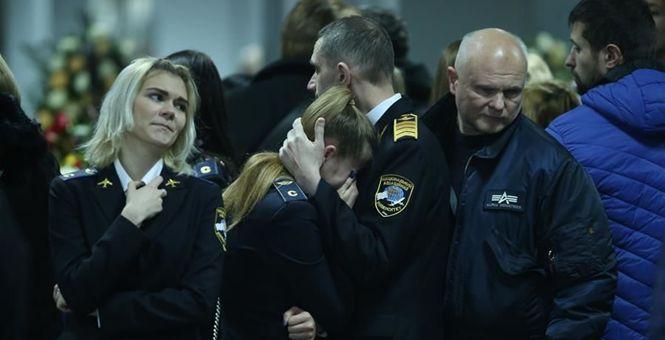 乌航客机事件中乌克兰遇难者遗体被运送回国