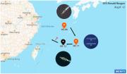 """解放军宣布在台海演练之际美军航母悄悄从东海""""溜了"""""""