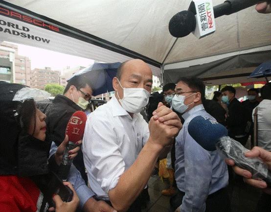 台媒:韩国瑜再度申请停止执行罢免投票被法院驳回