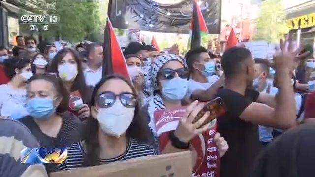 """allbet登陆网址:巴勒斯坦数千民众走上陌头 抗议以方借美""""新中东和平设计""""吞并土地 第2张"""