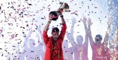 举国欢腾 西班牙男篮载誉归国举行夺冠庆典