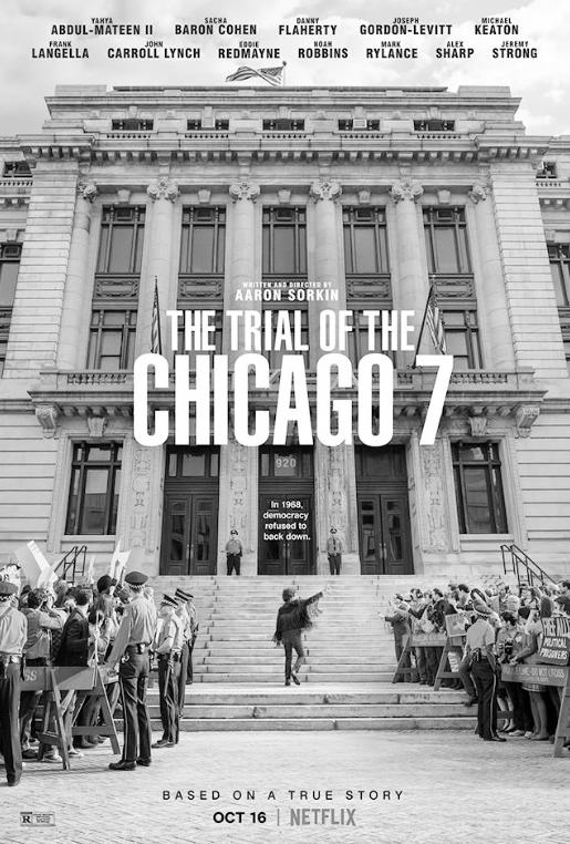 《芝加哥七君子审判》撞上美国大选