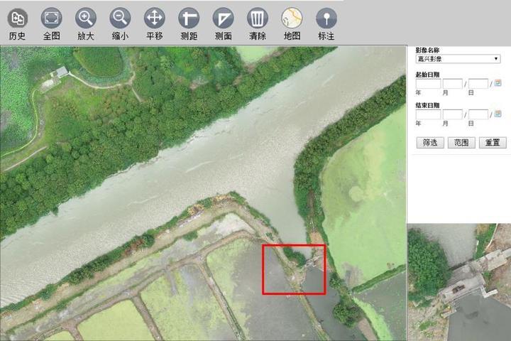 一天巡查15公里 无人机助力嘉兴内河航道工程防汛检查
