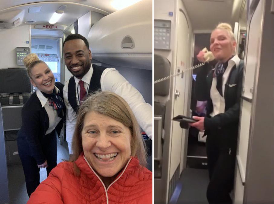 意外包机!美国女子疫情期间坐飞机发现只有自己一个乘客