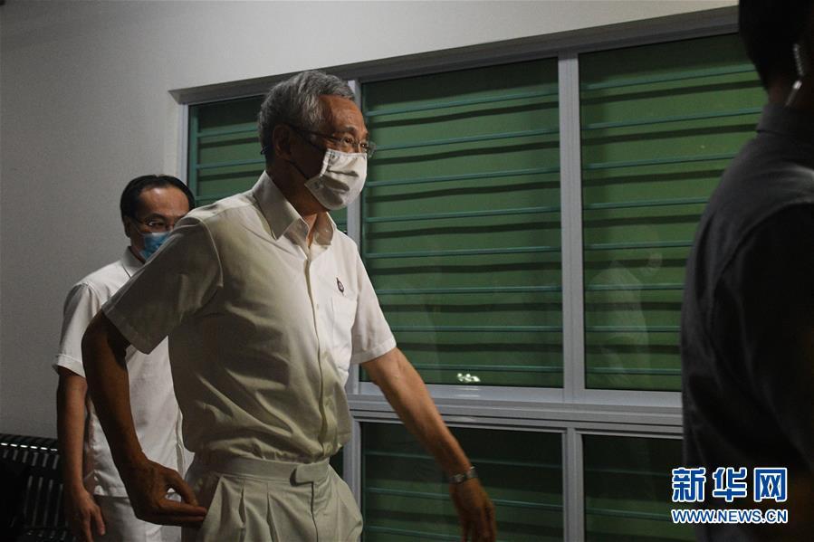 人民行动党在新加坡国会选举中得票领先