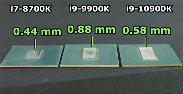 10核酷睿i9开盖换上液态金属散热 温度骤降9°C