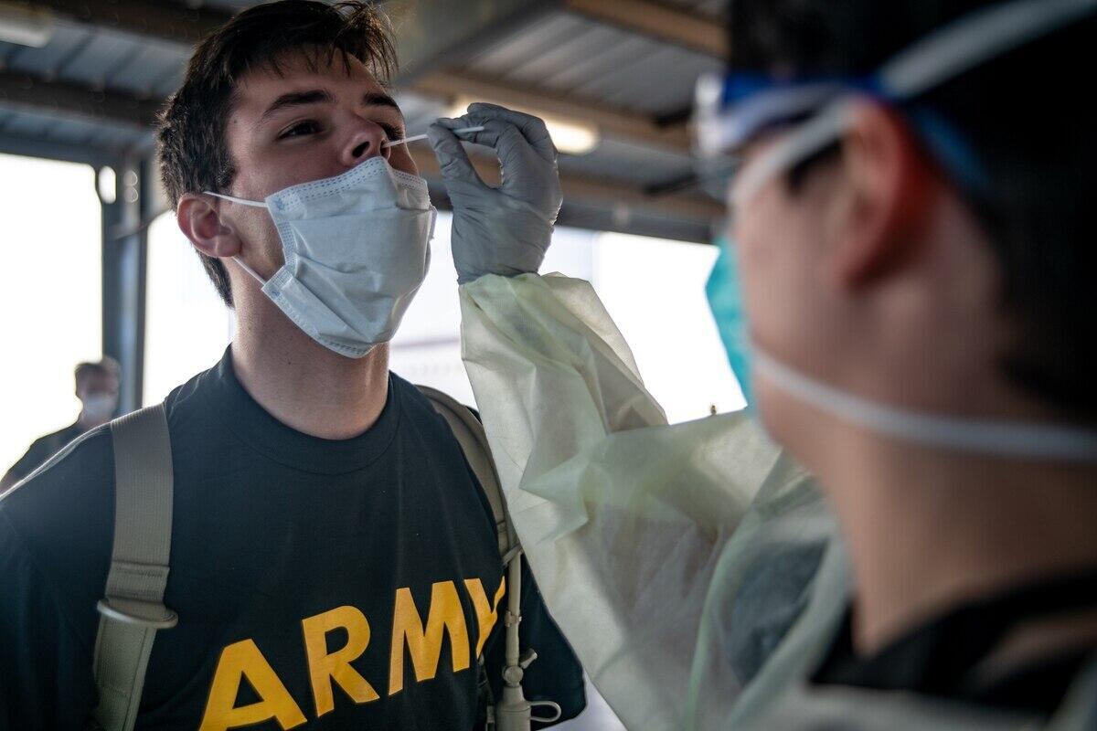 美国两大新兵基地200多人出现感染数字高到让美军破例公开
