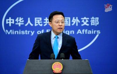 赵立坚:据报道,美国核弹头数量是中国20倍
