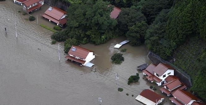 """日本政府认定7月份暴雨为""""特定紧急灾害"""""""