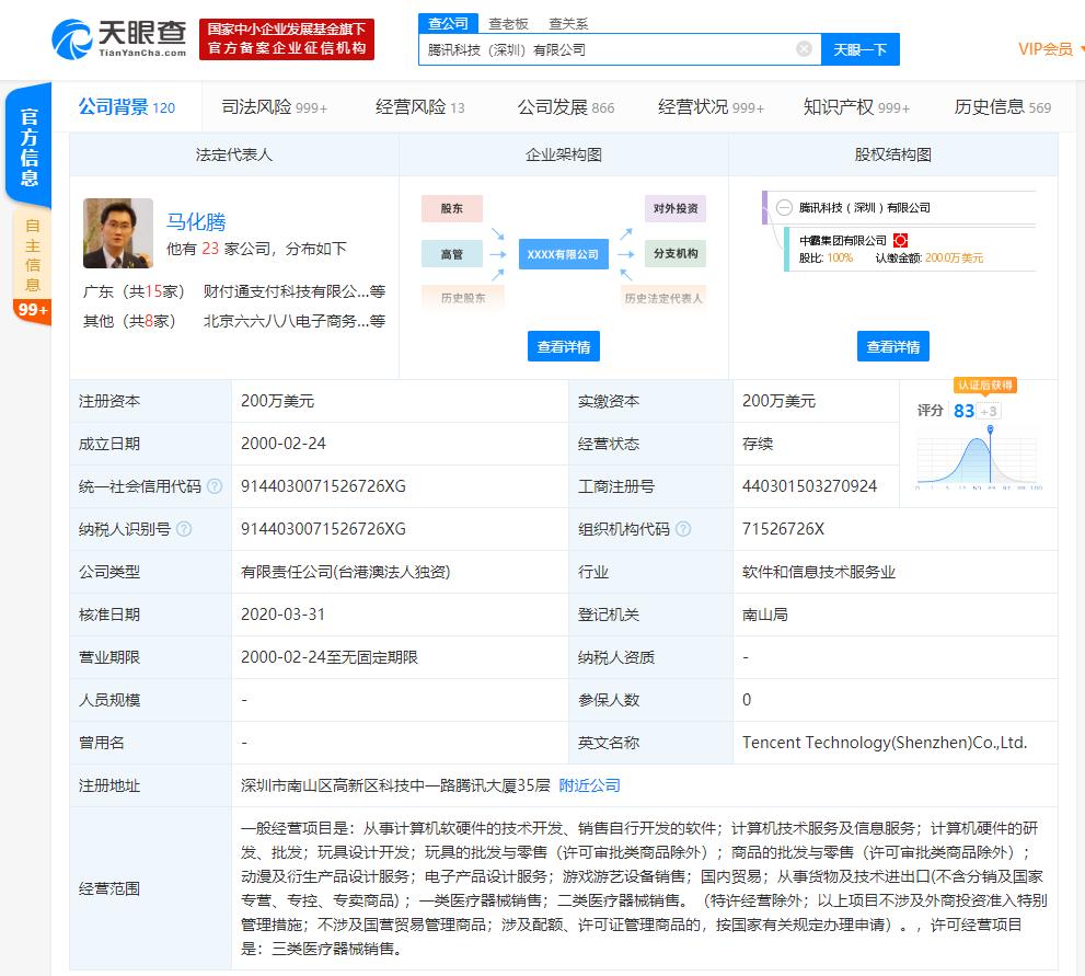 """腾讯科技(深圳)有限公司申请多个有关""""拍一拍""""的商标"""