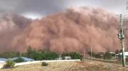 一波未平一波又起!澳大利亚迎巨型沙尘暴遮天蔽日