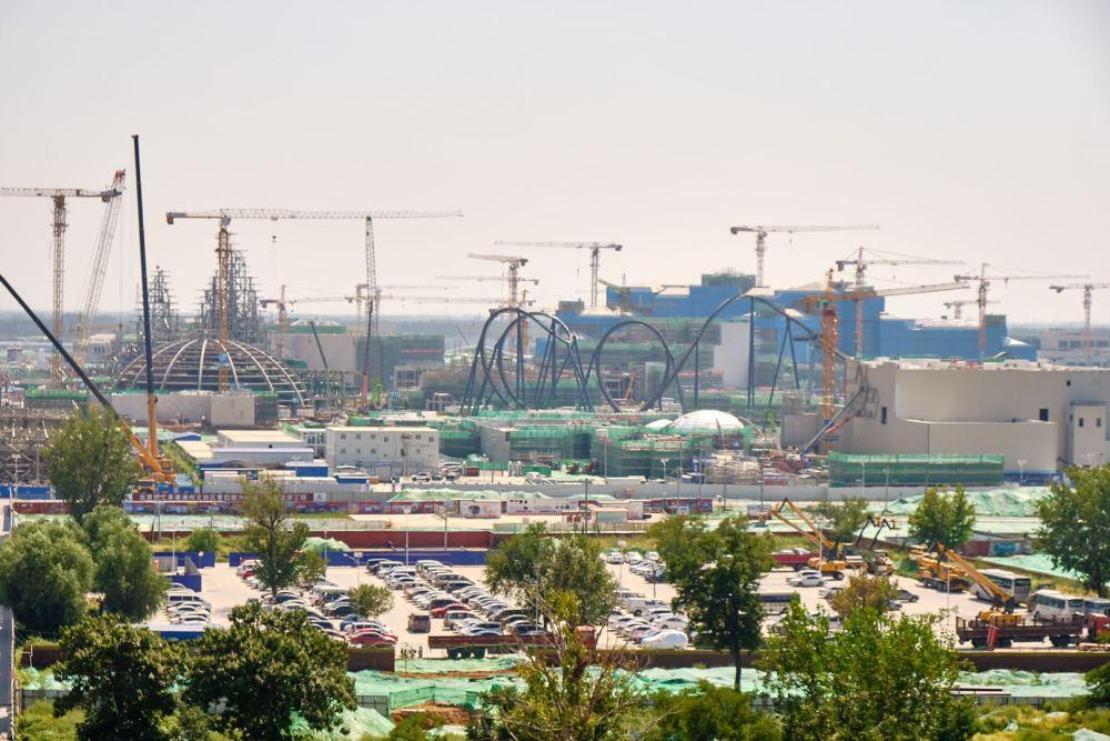 北京环球主题公园力争明年五一正式开园