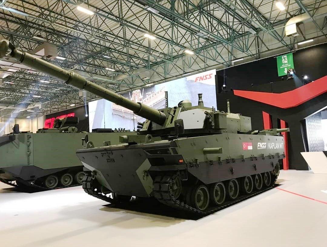 土耳其开始为印尼批量生产新型中型坦克