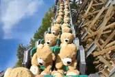荷兰游乐园因疫情关闭 泰迪熊成过山车乘客