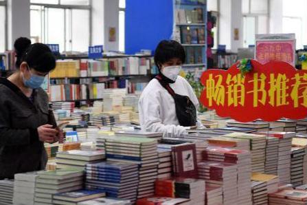 宁夏多地书店恢复营业 教辅类书籍受追捧