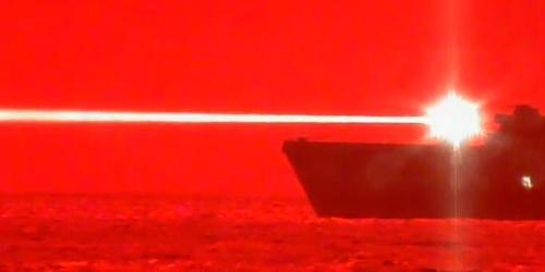 美军成功测试高能激光炮挪威专家吐槽:有点雾霾就不中用了