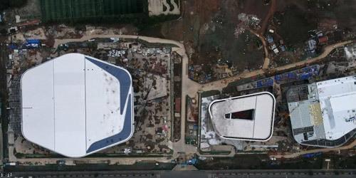 内蒙古成都:看看正在建设中的大运会体育场馆